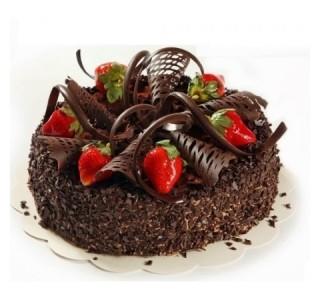 Altı Kişilik Çikolatalı Pasta